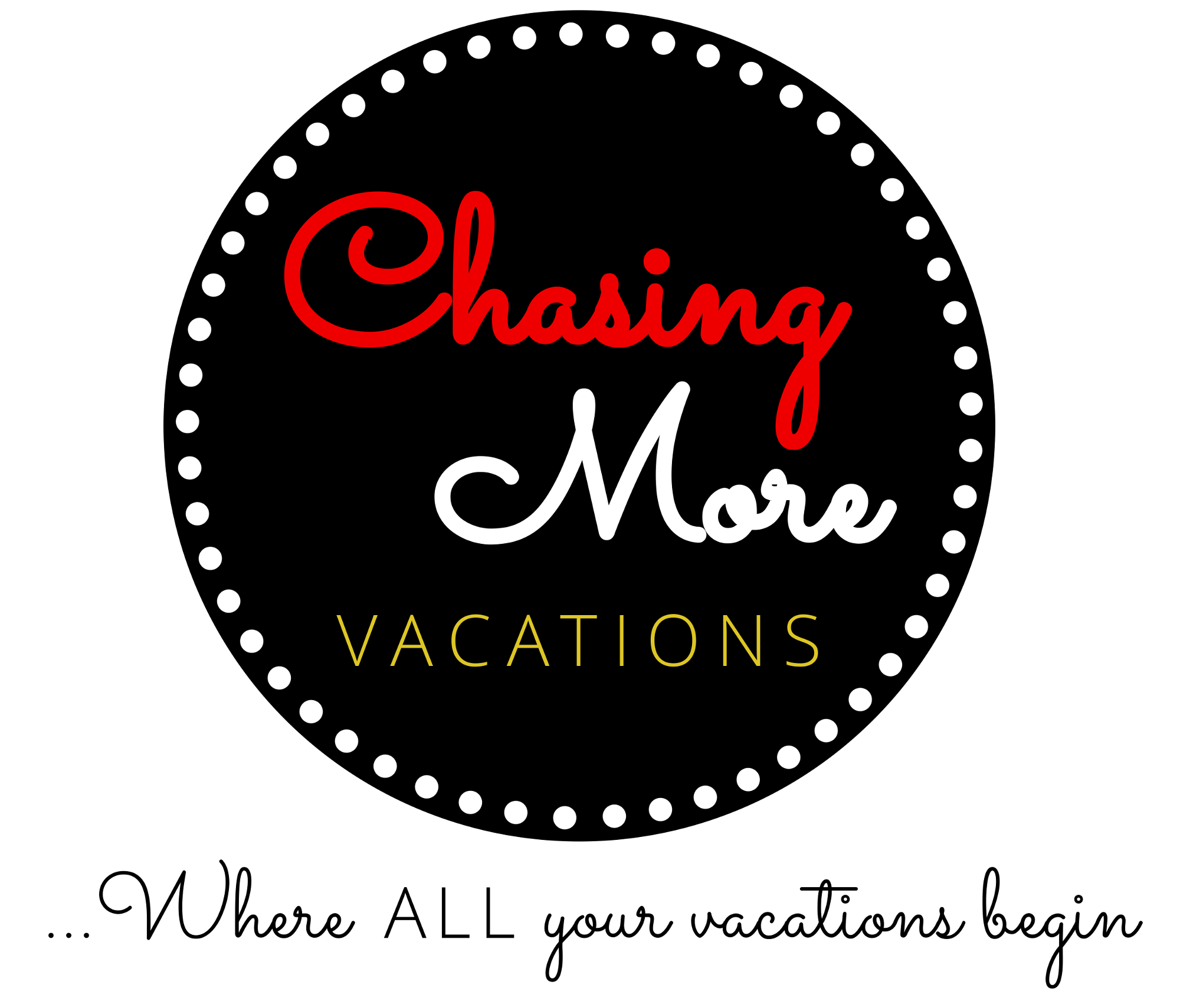 Chasing More Vacations Homepage